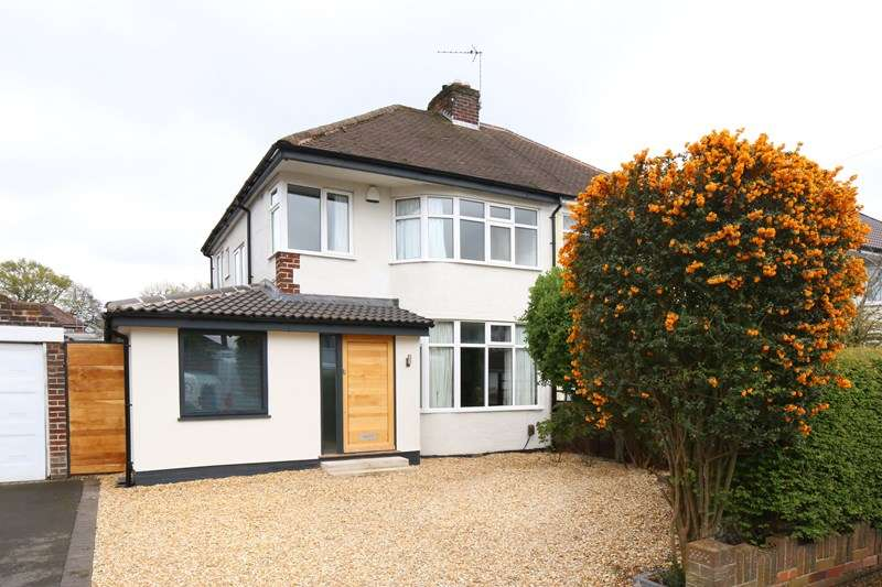3 Bedrooms Semi Detached House for sale in Malcolm Road, Shirley, Solihull