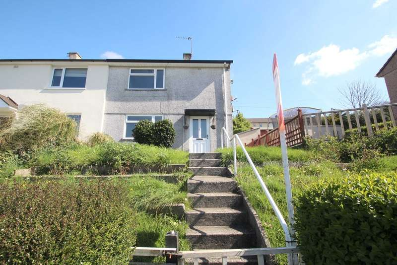 2 Bedrooms Semi Detached House for sale in Manadon, Plymouth