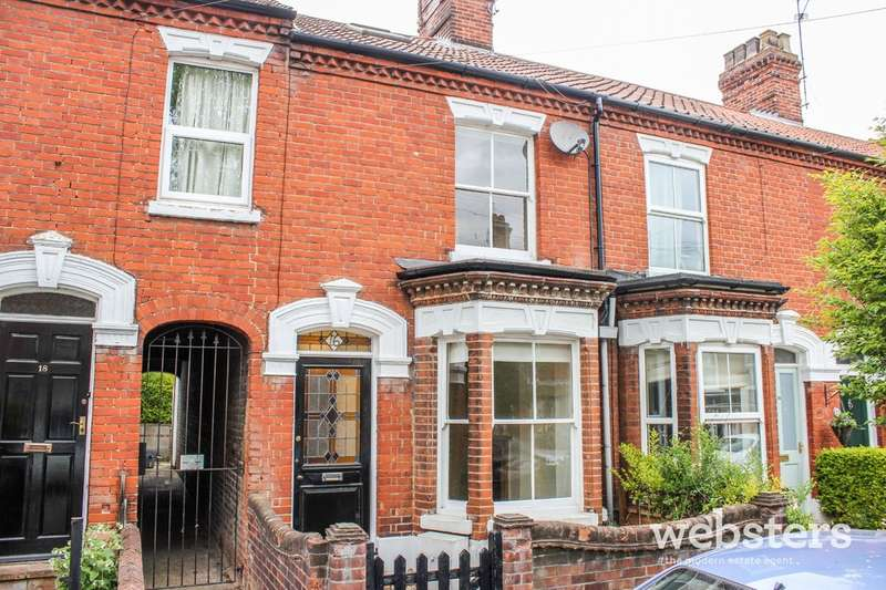 2 Bedrooms Terraced House for sale in Muriel Road, Norwich, NR2