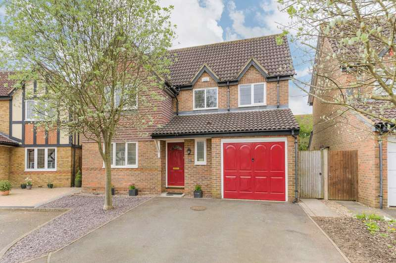 4 Bedrooms Detached House for sale in Cranwell Close, Shenley Brook End