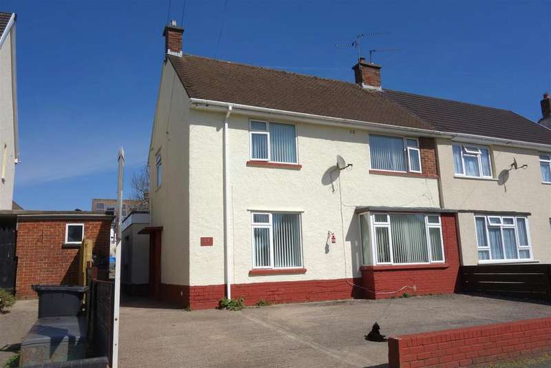 5 Bedrooms Semi Detached House for sale in Masefield Road, Penarth