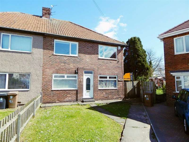 2 Bedrooms Apartment Flat for sale in Sydney Grove, Sunholme Estate, Wallsend, NE28