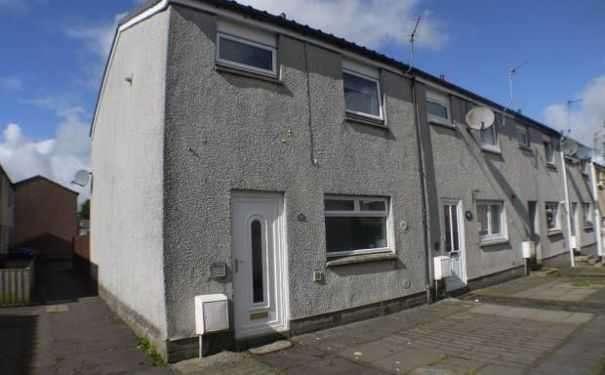 3 Bedrooms End Of Terrace House for sale in Jubilee Place, Stewarton, Kilmarnock, Kilmarnock