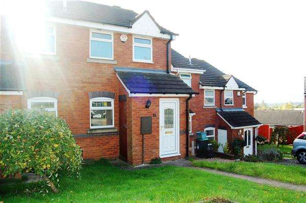 2 Bedrooms Terraced House for sale in Allsops Close, Rowely Regis