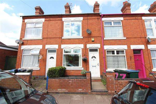 2 Bedrooms Terraced House for sale in Kingston Road, Earlsdon, Coventry