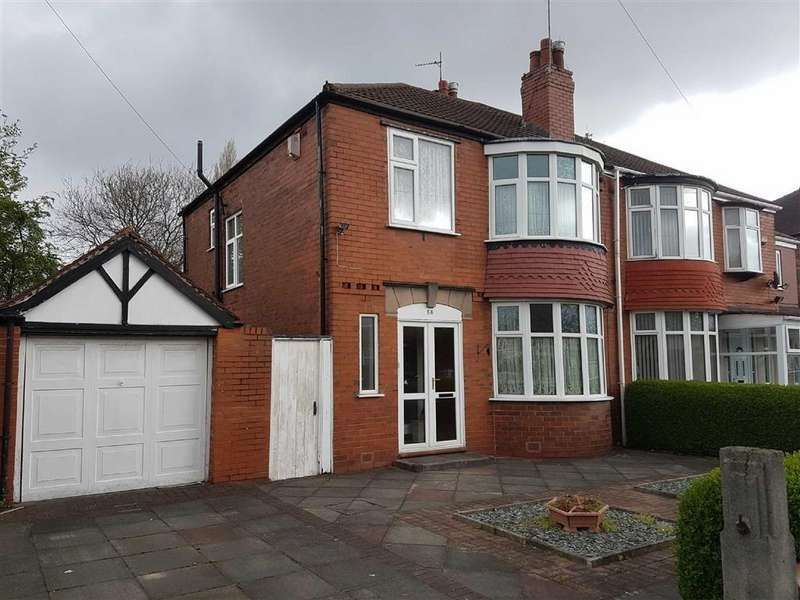 3 Bedrooms Semi Detached House for sale in Brantingham Road, Whalley Range, Manchester
