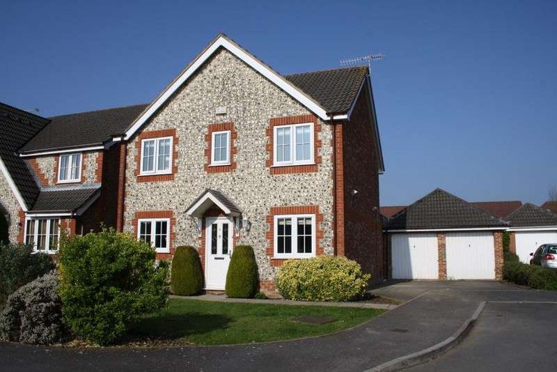 4 Bedrooms Detached House for sale in Stowe Close, Grange Park SO30