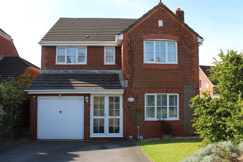 4 Bedrooms Detached House for sale in Mitchell Walk, Bridgeyate, Bristol