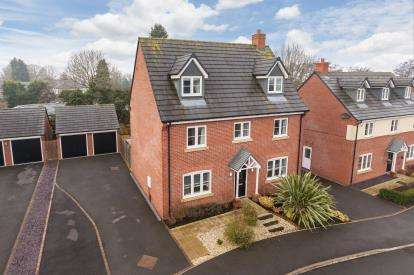 5 Bedrooms Detached House for sale in Moat Lane, Woore, Crewe, Shropshire