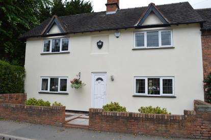 3 Bedrooms Semi Detached House for sale in Alrewas Road, Kings Bromley, Near Lichfield, Staffordshire