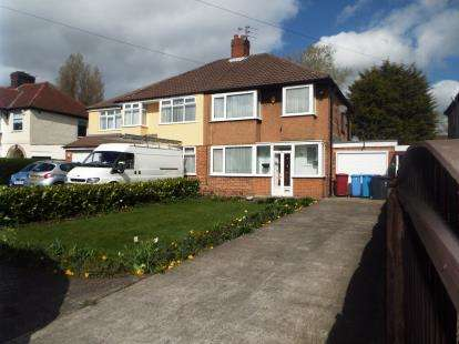 3 Bedrooms Semi Detached House for sale in Rupert Road, Liverpool, Merseyside, L36