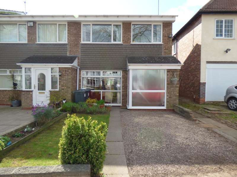 3 Bedrooms End Of Terrace House for sale in Oaklands Avenue, Harborne, Birmingham, B17 9TU