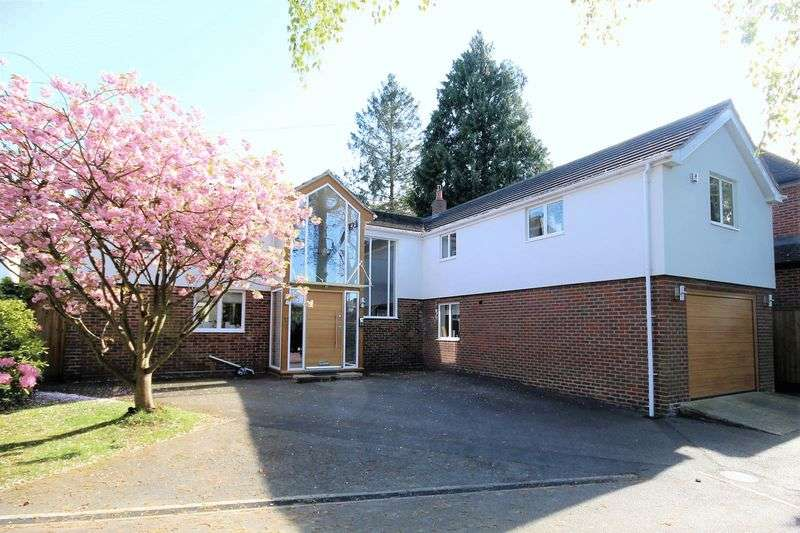 5 Bedrooms Detached House for sale in Worrin Road, Shenfield, Brentwood