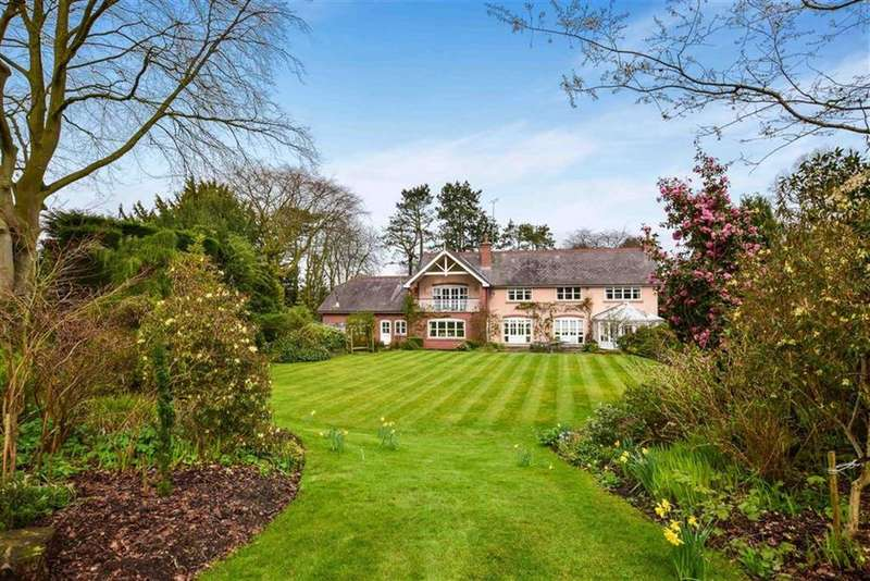 5 Bedrooms Detached House for sale in Bradgate Road, Altrincham, Cheshire, WA14