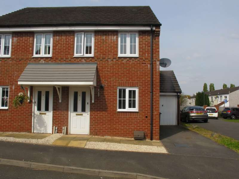 3 Bedrooms Semi Detached House for sale in Cardiff Grove, Marston Green