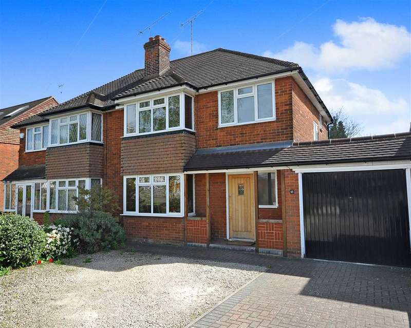 3 Bedrooms Semi Detached House for sale in Sebastian Avenue, Shenfield