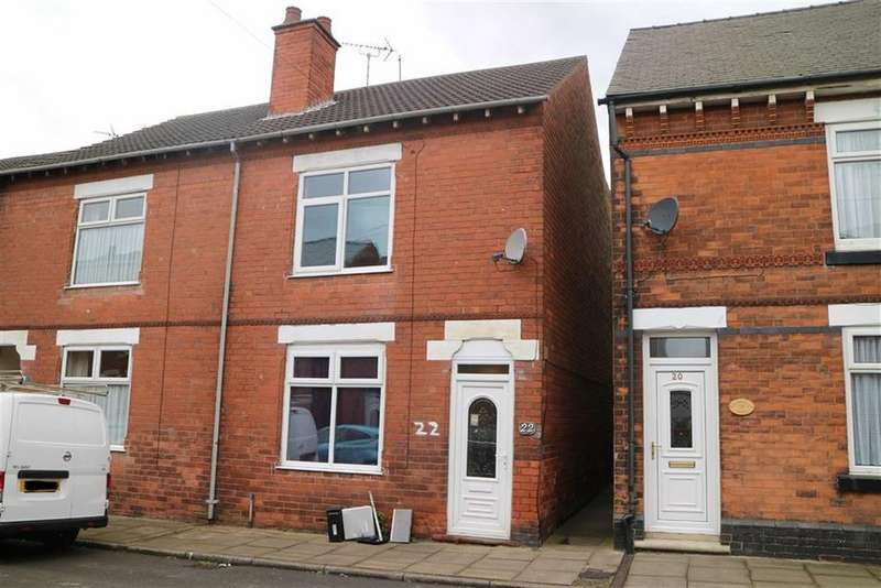 3 Bedrooms End Of Terrace House for sale in 22, Regent Street, Sutton In Ashfield, Notts, NG17