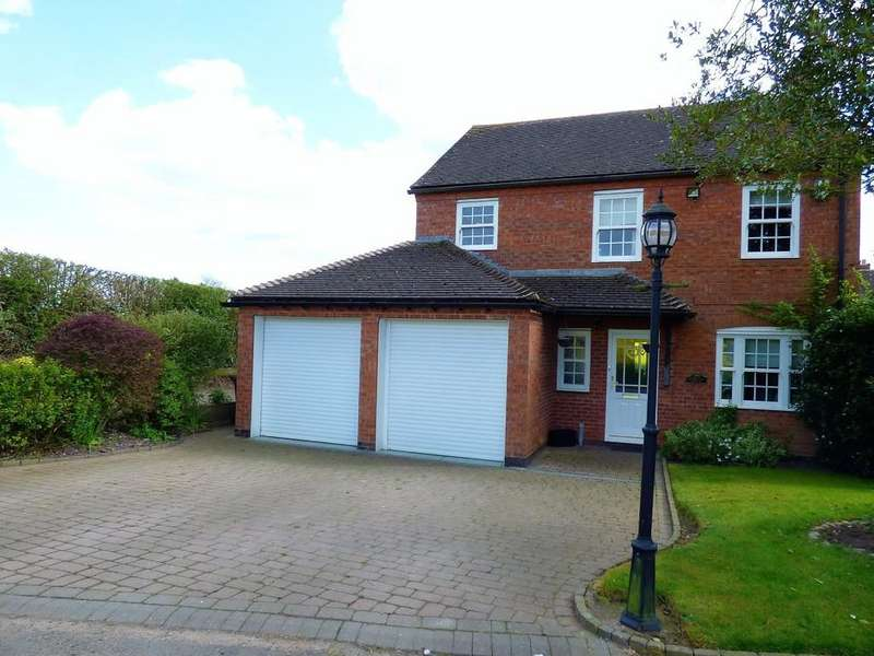 4 Bedrooms Detached House for sale in Roman Walk, Wall, Lichfield