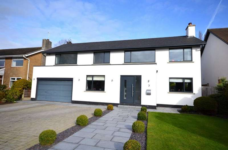 5 Bedrooms Detached House for sale in 7 Marlborough Avenue, Alderley Edge