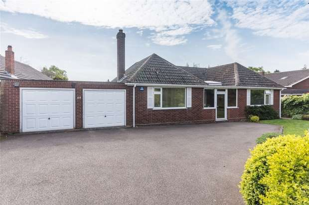 2 Bedrooms Detached Bungalow for sale in Quarry Hills Lane, Lichfield, Staffordshire