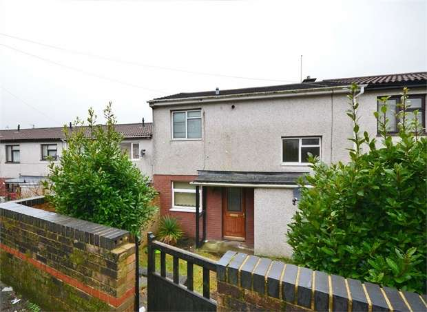 2 Bedrooms End Of Terrace House for sale in Dickens Court, Machen, CAERPHILLY