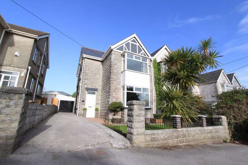 3 Bedrooms Semi Detached House for sale in Longfield Villas, Oreston, Plymouth, PL9
