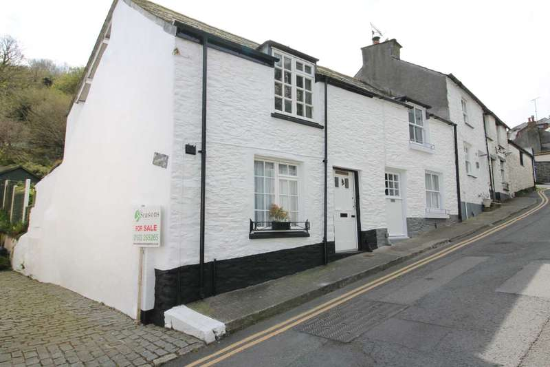 2 Bedrooms End Of Terrace House for sale in West Looe Hill, West Looe