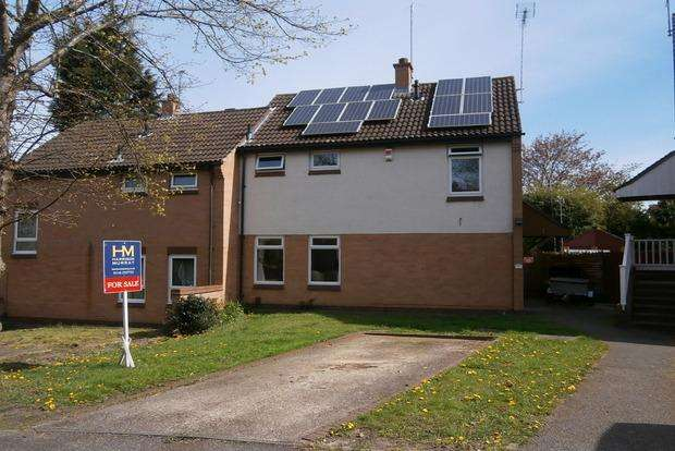 3 Bedrooms Semi Detached House for sale in Ipswich Close, Anstey Heights, Leicester, LE4