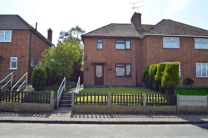 2 Bedrooms Semi Detached House for sale in Cross Street, Long Lawford, Rugby