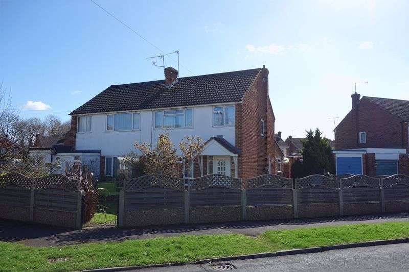 3 Bedrooms Semi Detached House for sale in Meadow Way, Aldershot