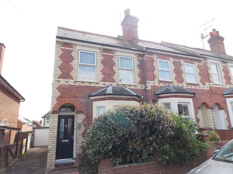 3 Bedrooms End Of Terrace House for sale in Beecham Road, West Reading, Reading