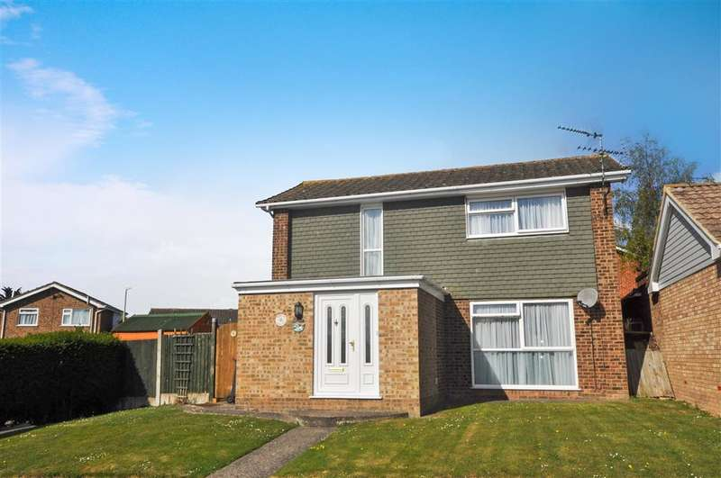 3 Bedrooms Detached House for sale in Halford Close, Herne Bay, Kent