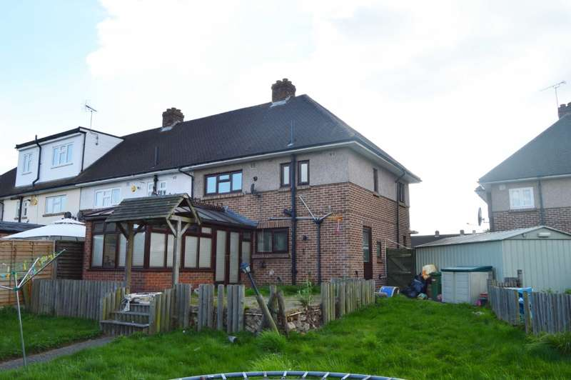 3 Bedrooms End Of Terrace House for sale in Wordsworth Close, Romford