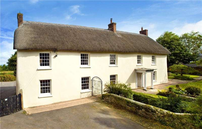 5 Bedrooms Detached House for sale in Bush House, Spreyton, Crediton, Devon