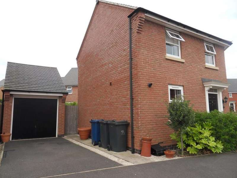 3 Bedrooms Detached House for sale in Firth Close, East Leake