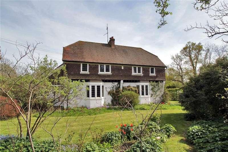 5 Bedrooms Detached House for sale in Five Fields Lane, Four Elms, Edenbridge, Kent, TN8
