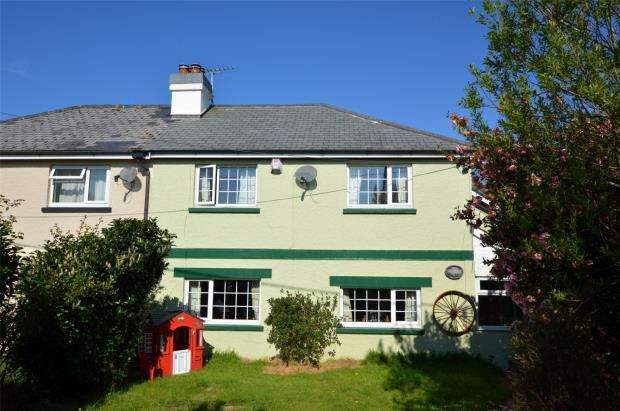 3 Bedrooms Semi Detached House for sale in East Taphouse, Liskeard, Cornwall