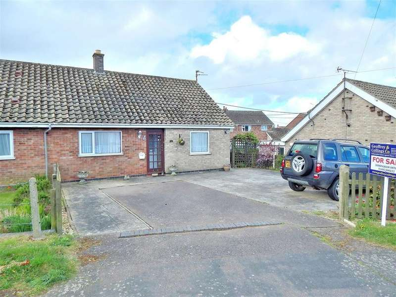 2 Bedrooms Semi Detached Bungalow for sale in Fengate, Heacham, King's Lynn