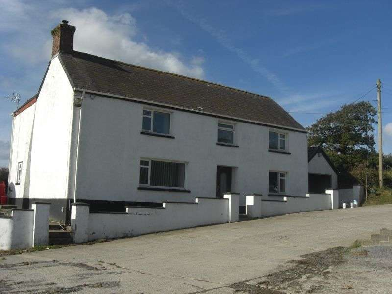 4 Bedrooms Land Commercial for sale in Scotland Hill Farm Llandygwydd, Cardigan, Ceredigion. SA43 2RN