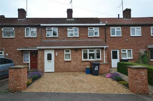 3 Bedrooms Terraced House for sale in Queens Crescent, Kingsthorpe, NORTHAMPTON