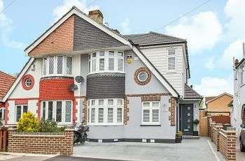 4 Bedrooms Semi Detached House for sale in Old Farm Avenue, Sidcup, Kent, DA15 8AH