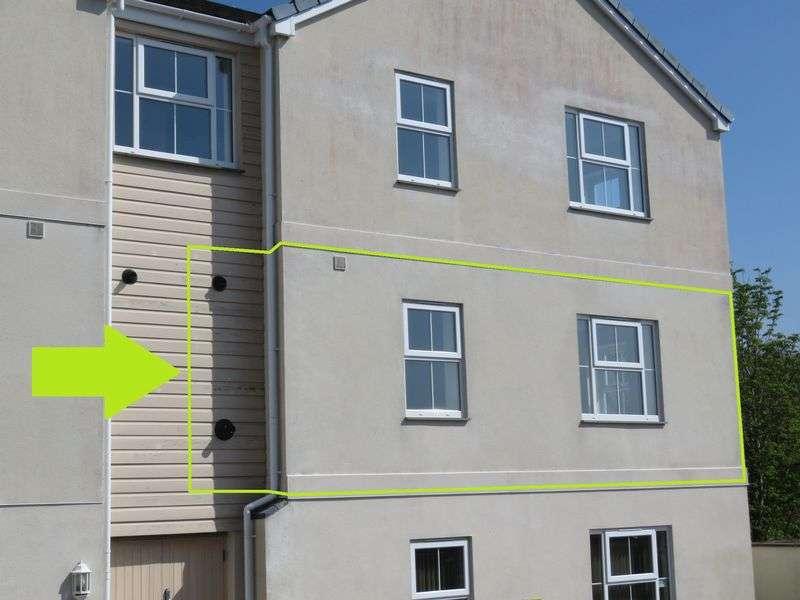 2 Bedrooms Flat for sale in Newbridge View, Truro
