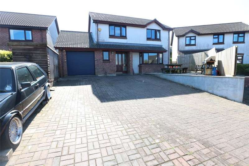 4 Bedrooms Detached House for sale in Willow Drive, Camborne, Cornwall
