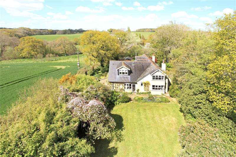 4 Bedrooms Detached House for sale in Edmondsham, Wimborne, Dorset, BH21