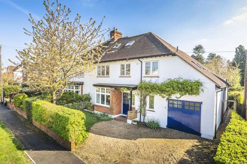 5 Bedrooms Semi Detached House for sale in Westfield Road, Bengeo, Hertford