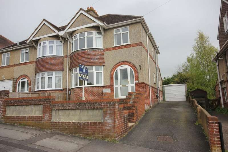 3 Bedrooms Semi Detached House for sale in ST FRANCIS ROAD, SALISBURY, WILTSHIRE SP1 3QP
