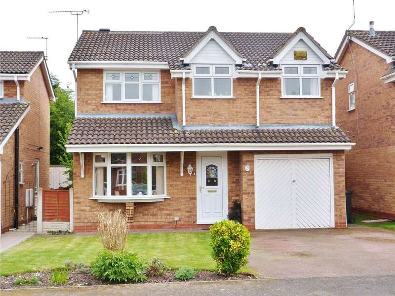 4 Bedrooms House for sale in Ullswater Avenue, Wistaston, Crewe, Cheshire, CW2