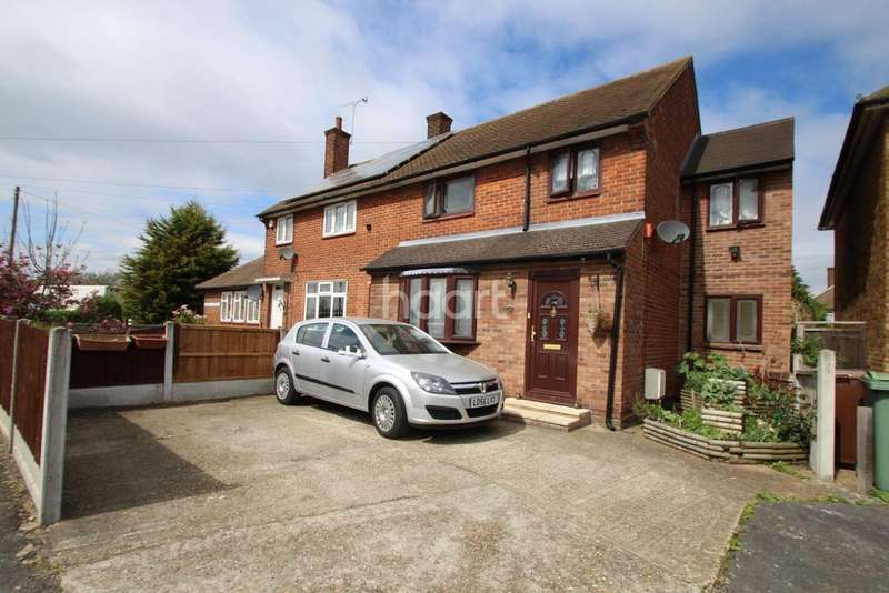 4 Bedrooms Semi Detached House for sale in Frances Gardens,South Ockendon