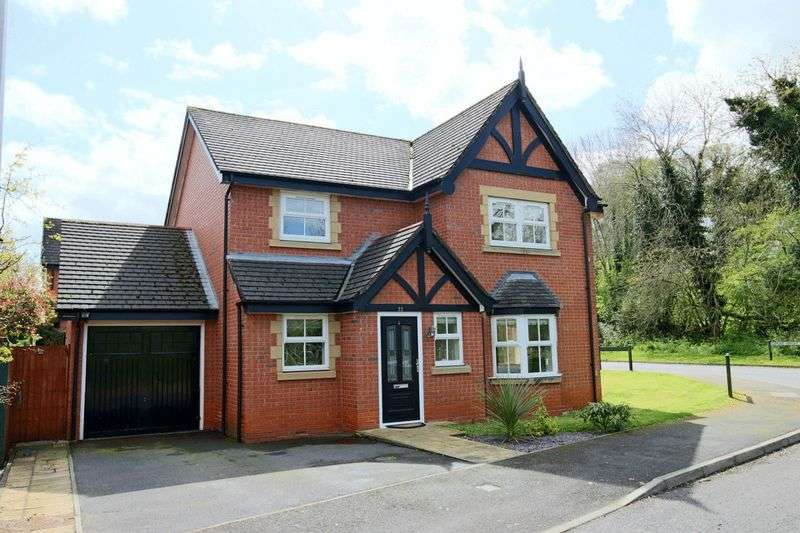 4 Bedrooms Detached House for sale in Saltmeadows, Nantwich