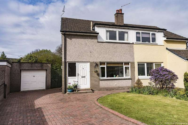 3 Bedrooms Semi Detached House for sale in Hume Crescent, Bridge of Allan, Stirling, FK9 4SN